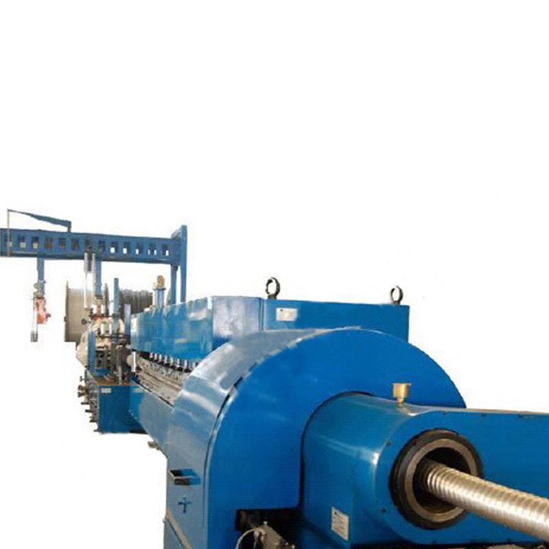 Metal Sheathing Line Argon Arc Welding, Molding and Corrugating