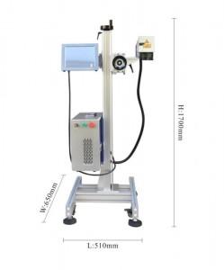 LTG series Optic fiber cable laser marking machine