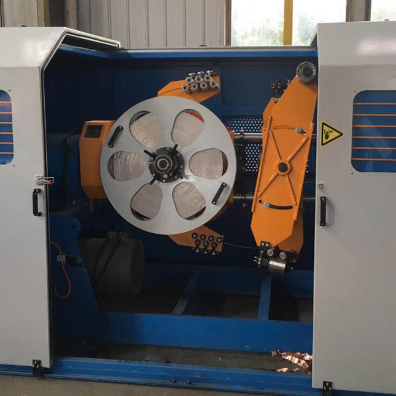 Steel Tape Armoring Machine