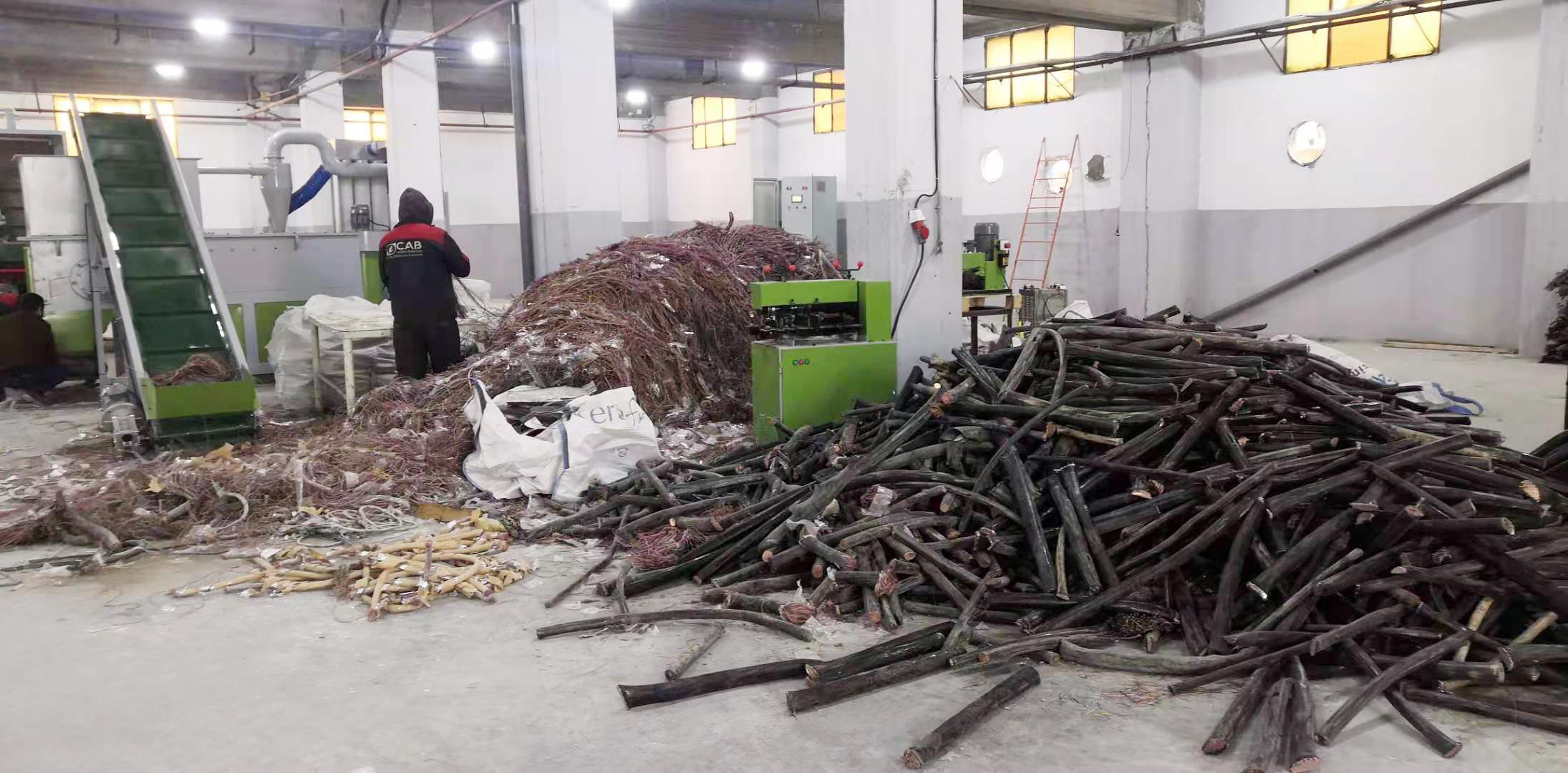 copper wire recycling machine